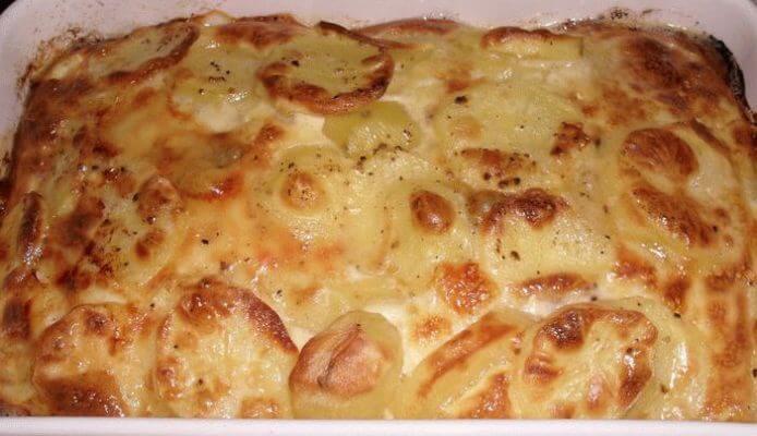 гратен картофельный рецепт