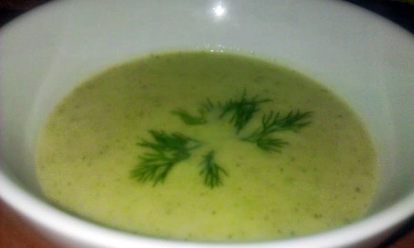 овощной крем-суп из брокколи